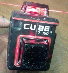 Построитель лазерных плоскостей ADA Cube 2*360