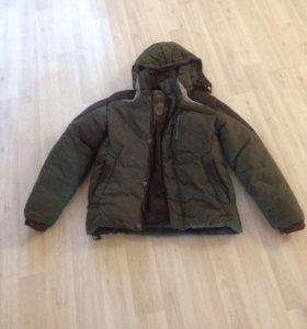 Зимняя мужская куртка бу 46-48р