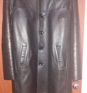 Куртка кожаная мужская, размер XL