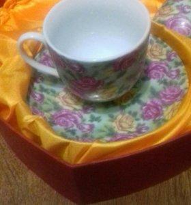 Чайная пара 4 предмета