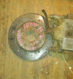 тормозной диск и супорт