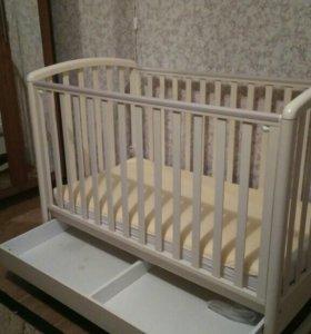 Детская кроватка baby italia