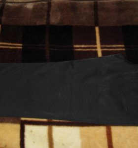 Брюки черные (плащёвка) джинсовый покрой