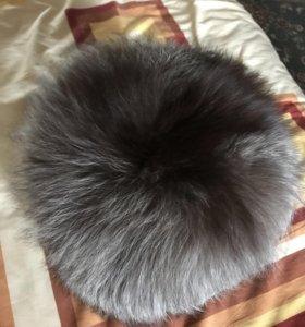 Зимняя шапка (песцовая )