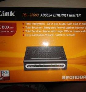 Роутер DSL-2500U adsl2+