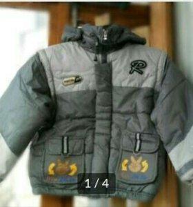 Куртка-жилетка для мальчика. Новая