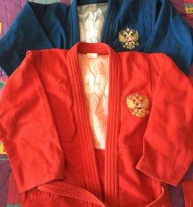 Куртка для самбо и кимоно