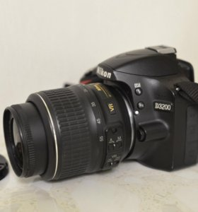 Nikon D3200 18-55mm VR 24мпикс