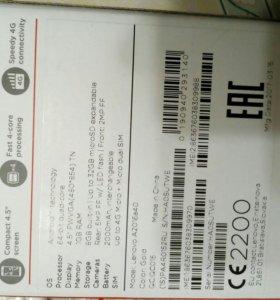 Телефон Lenovo A2016a40