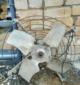 Вентилятор осевой трехфазный