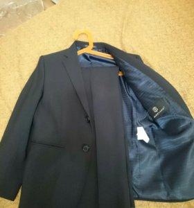 Школьный костюм, 128 рост, темно-синий