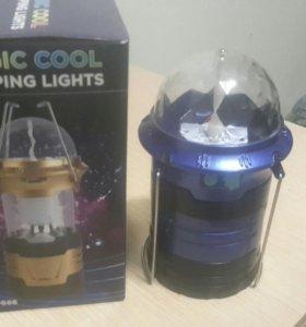 Кемпинговый фонарь.