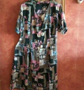 Платье - халат р 54-56