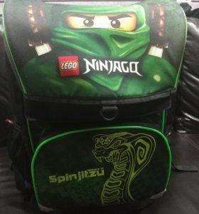 Рюкзак (ранец) школьный Lego Ninjago Green