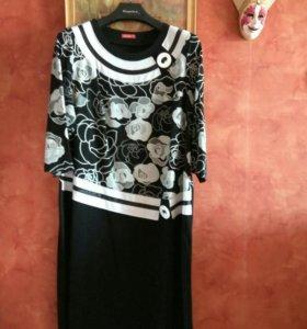 Платье р 56-58