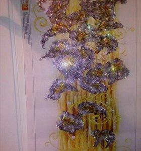 Картина (алмазная вышивка) ручной работы