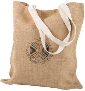 🔥 Джутовые сумки под заказ с логотипом