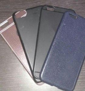 4 чехла для айфона 6+