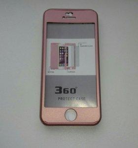 Чехол из пластика на iPhone 5/5s