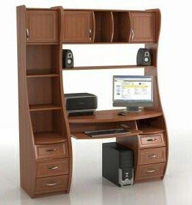 Компьютерный стол-стенка