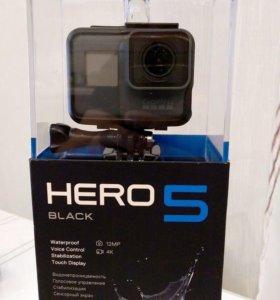 GoPro hero 5 + micro SD 64 GB
