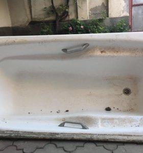 Ванна чугунная бу