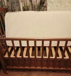 Кровать детская ( маятник)