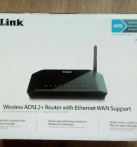 Беспроводной маршрутизатор ADSL2 D-Link