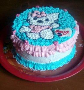 Домашние торты(не мастика)