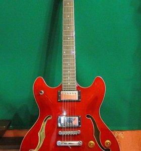 Полуакустическая гитара WASHBURN HB30