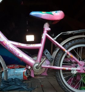Велосипед лунтик для девочки