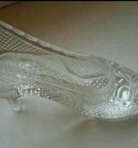 На свадьбу туфелька для шампанского