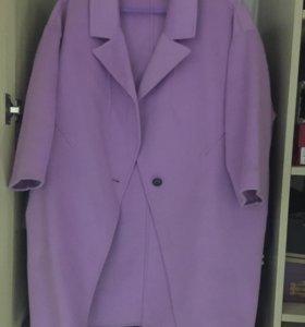 Пальто очень красивого цвета