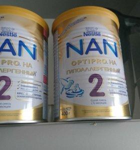 Смесь детская Nan 2 гиппоалергенный