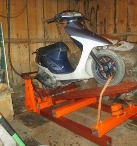 Вилли-машина для скутера
