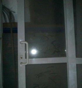 Дверь, стеклопакет