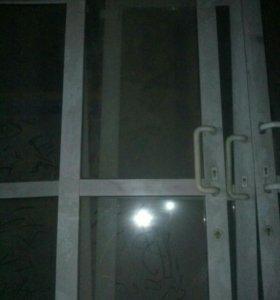 Дверь стеклопакет