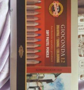 Пастельные карандаши от koh-i-noor
