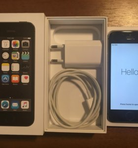 iPhone 5s 16gb черный