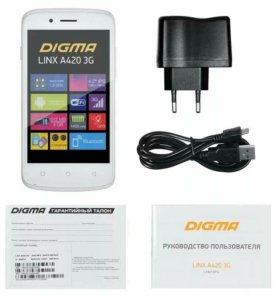 Продам Digma linx a420 3g