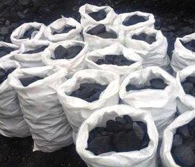 Уголь в мешках Орех