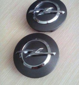 Колпачки ступицы Opel новые, оригинальные