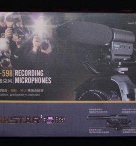 Внешний микрофон Takstar для фотоаппарата(Nikon)