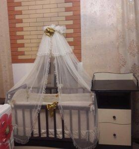 Детская кровать (трансформер)