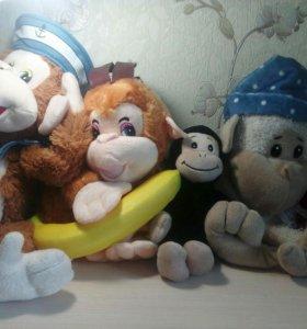 Игрушки обезьяны