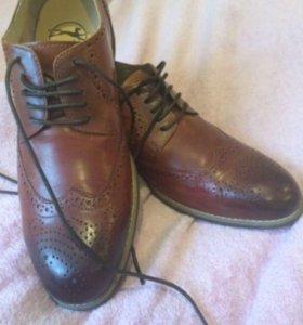 Туфли кожа на парня