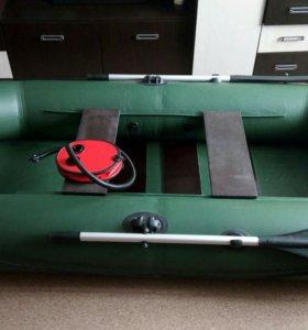 Надувная 2-х местная лодка
