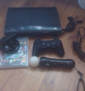 Sony PlayStation 3 Super Slim + PS Move