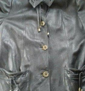 Кожаная куртка размер 50-52-54