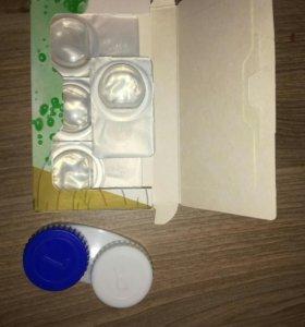 Линзы с оттенком -1,5диоптрия
